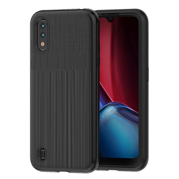 Pour Samsung A3 A7 2017 G388F J3 J7 Note3 4 5 S3 S4 S5 S6 S7 J2 anti-rayures Résistant aux chocs de protection en métal brossé Combo Phone Case Cover