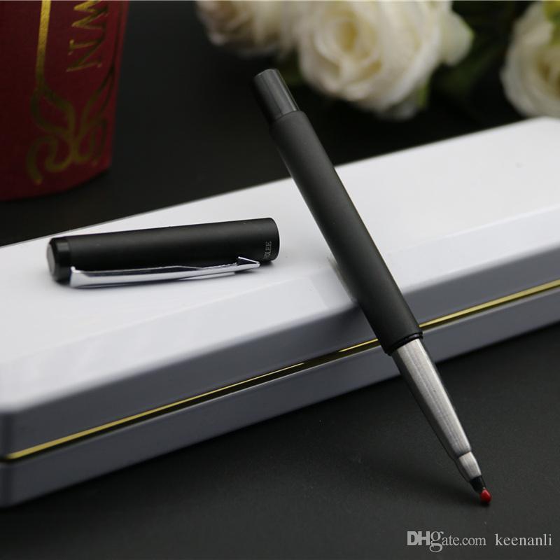 Livraison gratuite Papeterie scolaire Pen officesupplies BallpointPen école Fournitures Marque Stylos stylo à bille roulante