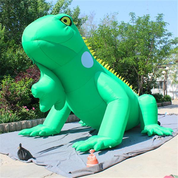 14.5ft Länge riesigen aufblasbaren Lizard Aufblasbare Luftballon Mascots Mit LED-Streifen für Werbung aufblasbare Dekoration