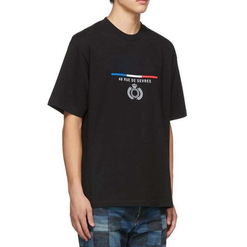 Logotipo de Best 19SS clásico bordado de la corona Tee calle monopatín color sólido camiseta de los hombres verano de las mujeres ocasional simple de manga corta T HFYMTX609