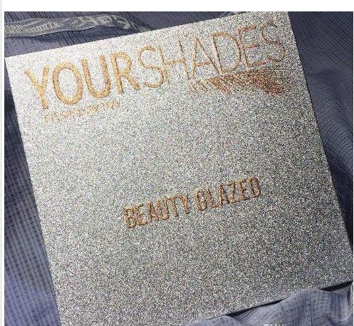 Lo nuevo Belleza vidriada de maquillaje paleta de sus sombras en polvo 36colors Sombra de ojos paleta de brillo mate