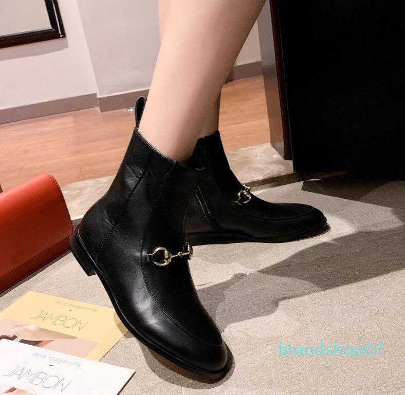 Hot Sale-fashion relevo microfibra botas de couro das mulheres tornozelo cabeça redonda ocidental botas de vaqueiro mulheres meados de bezerro grossas fatias de pista