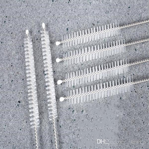 Edelstahl Reusable Straw Reinigungsbürsten Reagenzglas Pinsel Straw Pinsel Trinken Rohr Straw Pinselreiniger Andere Bar Produkte WY325Q