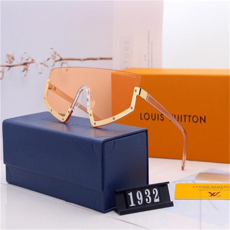2020 vendita calda di vetro di disegno di marca degli occhiali da sole di marca Pilot Vintage Occhiali da sole UV400 banda Uomini Donne Ben telaio in metallo Lens B2