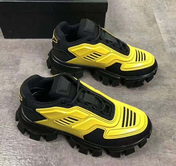 Cloudbust Thunder Knit Sneakers Uomo sportivo Designer scarpe da uomo classici pattini casuali C16 Tessuto Rubber Trainer Outdoor