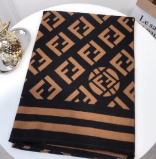 marque écharpe luxe hiver Tide chaud femmes mode écharpe châle Lettre anneau long cou haute qualité 180X70CM foulards en laine