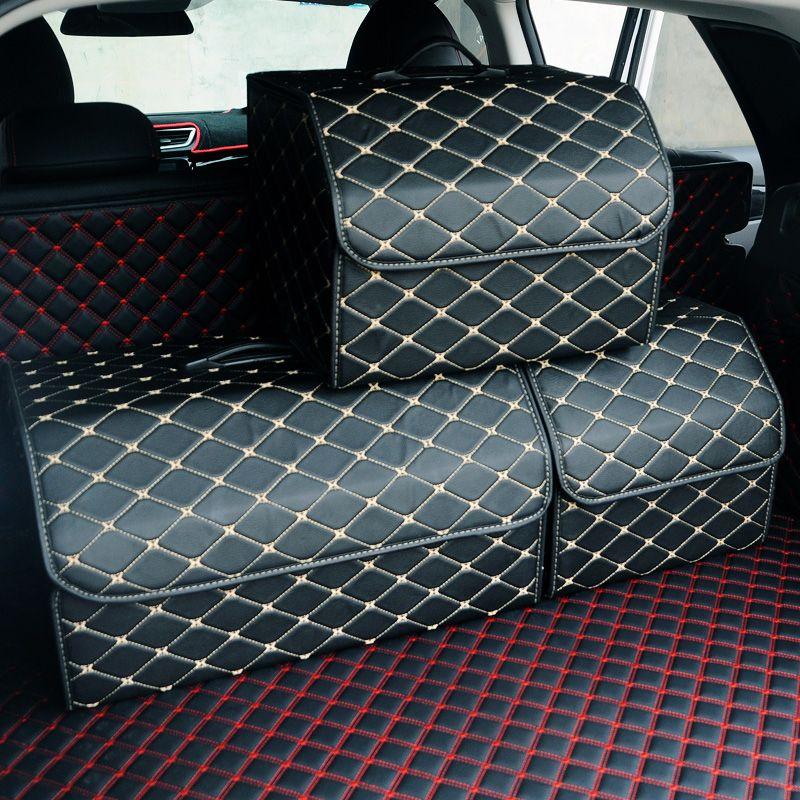 Auto Multi-Tasche Trunk Bag Organizer Spielzeug Nahrungsmittelbehälter-Beutel-große Kapazität Folding Aufbewahrungstasche trunk Verstauen und Aufräumen