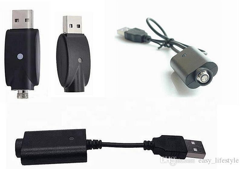 Cargador USB para 510thread ego, ego-t, ego-w batería, cargador inalámbrico entrada de cigarrillo electrónico DC 5V USB2.0 para todos los cargadores ego