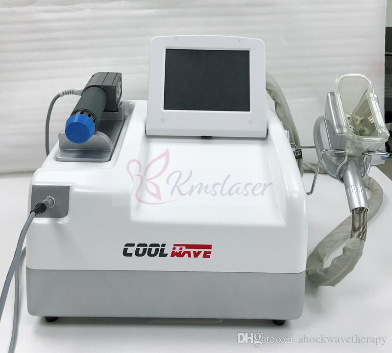 macchina portatile grasso congelamento onda d'urto di dimagrimento per / Portable onda PRO e grasso congelamento The Cool Combinazione