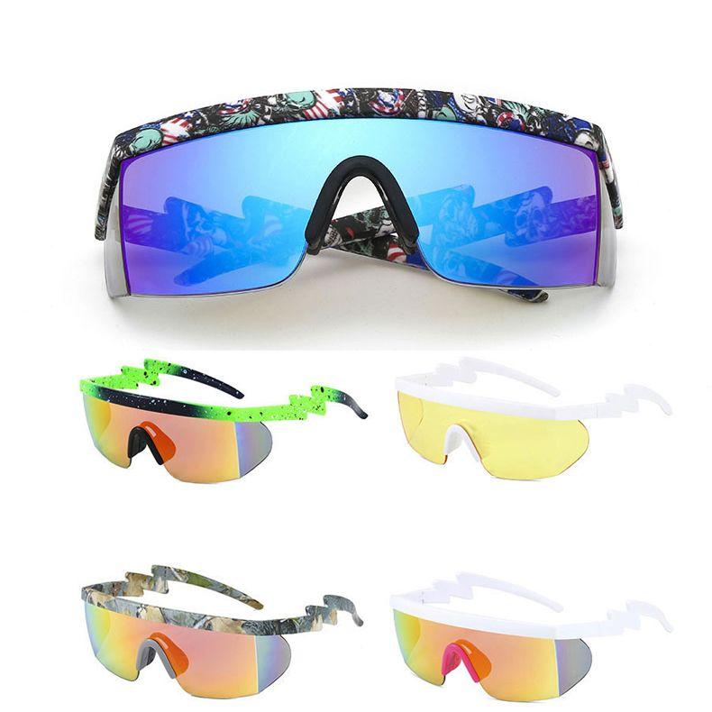 Neue Designer Frauen Radsportbrillen Sonneglas Außen Sport Froschschenkel Sonnenbrille UV400 Schutzbrille für Rennrad Fahrräder Brillen
