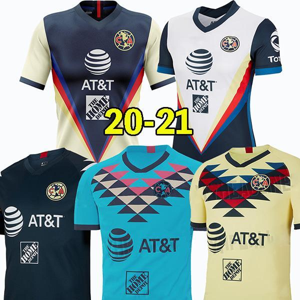 19 20 21 نادي أمريكا لكرة القدم جيرسي الثالثة 2019 2020 م × الدوري الاسباني نادي 3RD قميص أمريكا لكرة القدم