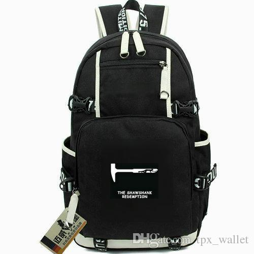 Hammer day pack The redemption shawshank daypack Tunnel schoolbag Film packsack Computer rucksack Sport school bag Out door backpack