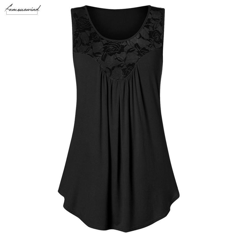 Blusas Mujer De Moda 2020 Bayan Bluz Gömlek Kadınlar Yaz Casual Kolsuz Dantel Tank Top Çiçek Bluz