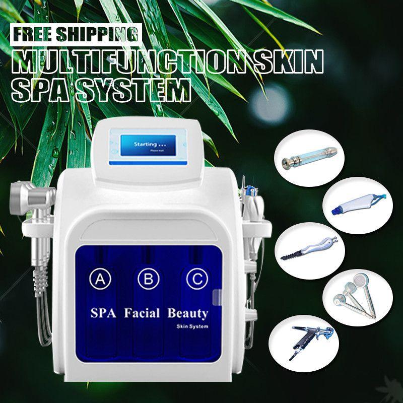7 IN 1 Oxygen Facial Machine Dermabrasion Hydra Facial Skin Rejuvenation Oxygen Injector Skin Moisturizing Hydrofacial Machine