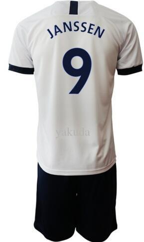 Personalizado 19-20 KANE 10 Camisas De Futebol Conjuntos Jerseys Com Shorts, ALDERWEIRELD 4 FILHO 7 LAMELA 11 DIER 15 DELE 20 DEMBELE 19 Uniformes De Futebol