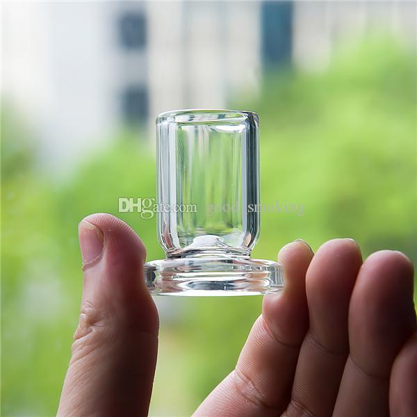 Cap Vidro Suporte Suporte de OD 25 milímetros de espessura de vidro Stander Para Rig Carb Cap Dabber Bong Oil
