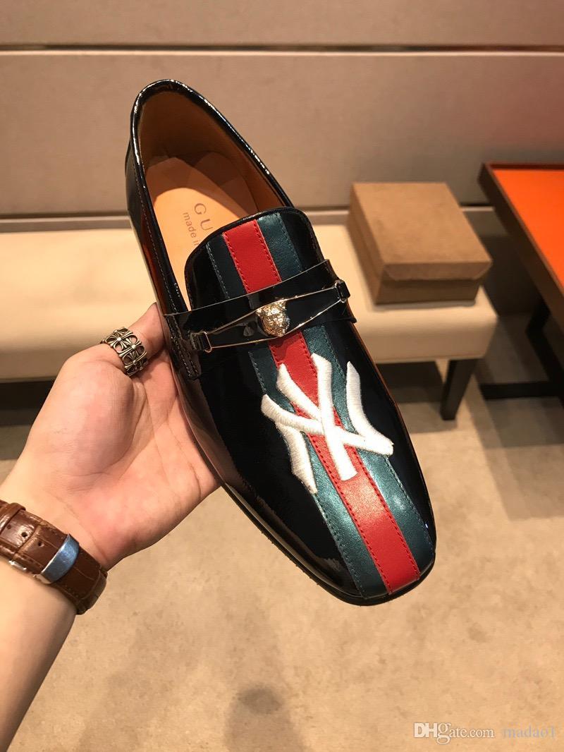 Новые Натуральная Кожа Мужская Обувь Свадебные Туфли на Шнуровке Плоские Бизнес Британские мужские Формальные Обувь Мужчины Дизайнер Роскошные Оксфорды