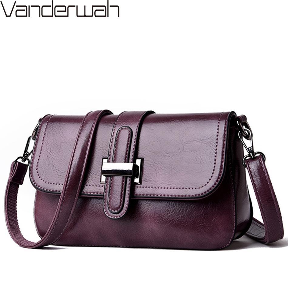 Винтаж 3-в-1 Crossbody сумки для женщин курьерские сумки 2019 кожаные роскошные сумки женские сумки дизайнер Sac a Main Femme Y200328