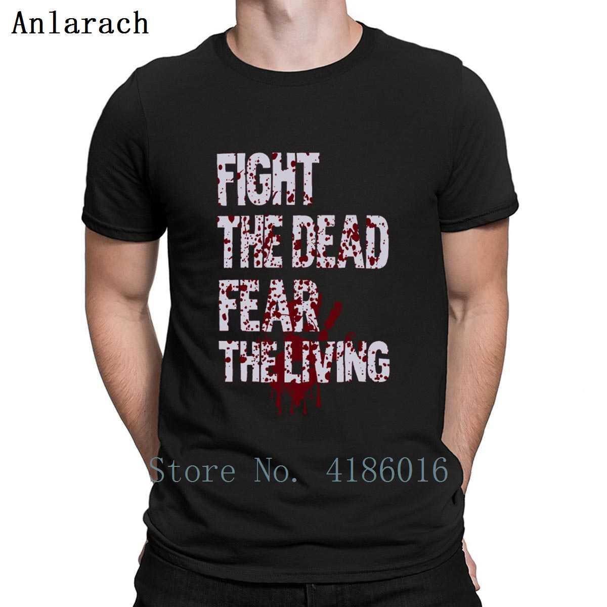 Ölü Dövüş Ölü Korku Yaşayan Tişörtlü Pamuk S-5XL Boş Grafik Yaz Gömlek Soğuk Baskı komik