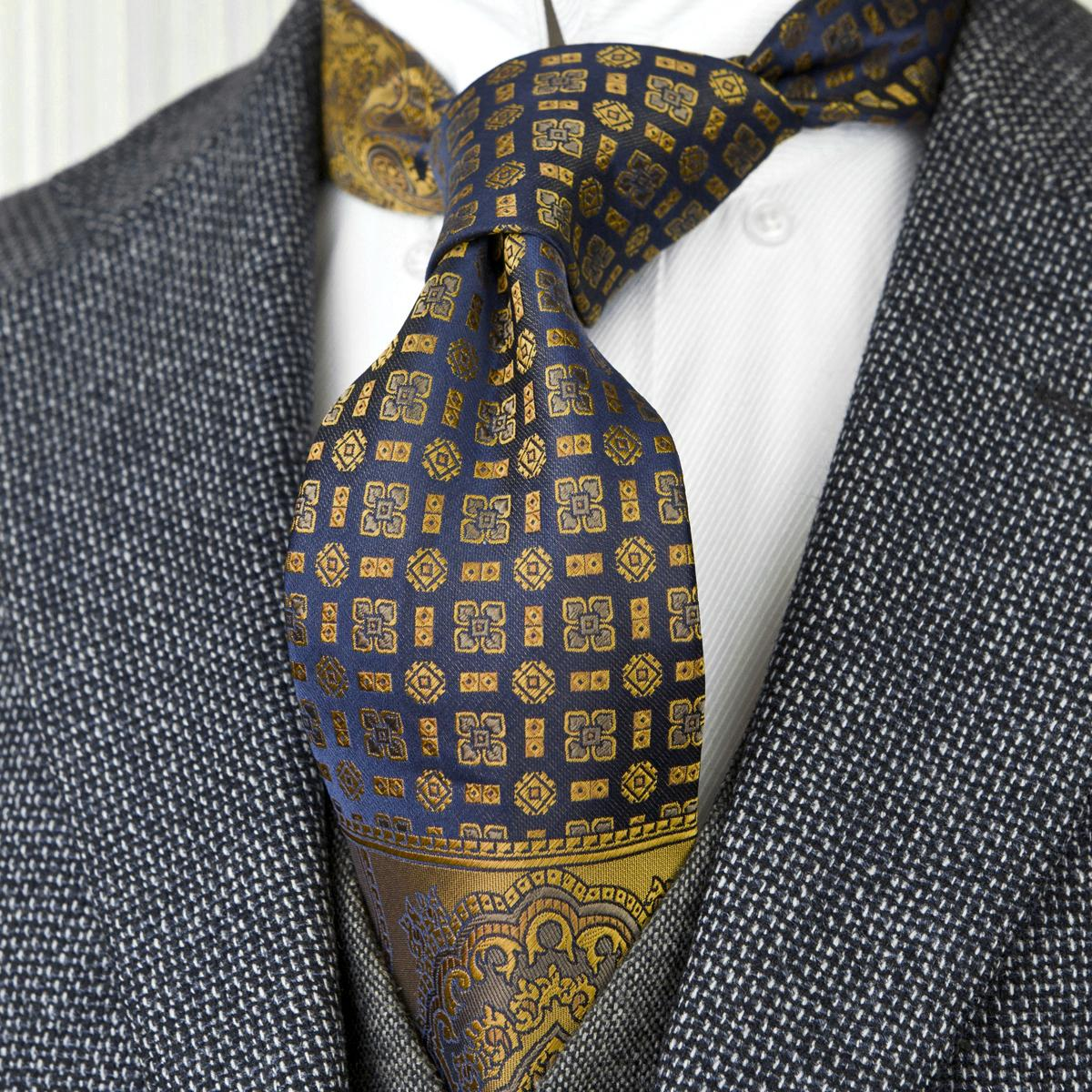 Freies verschiffen F22 multicolor braun gold gelb navy blau floral herren krawatten krawatten taschenquadrat 100% seide jacquard gewebt krawatte set thanky