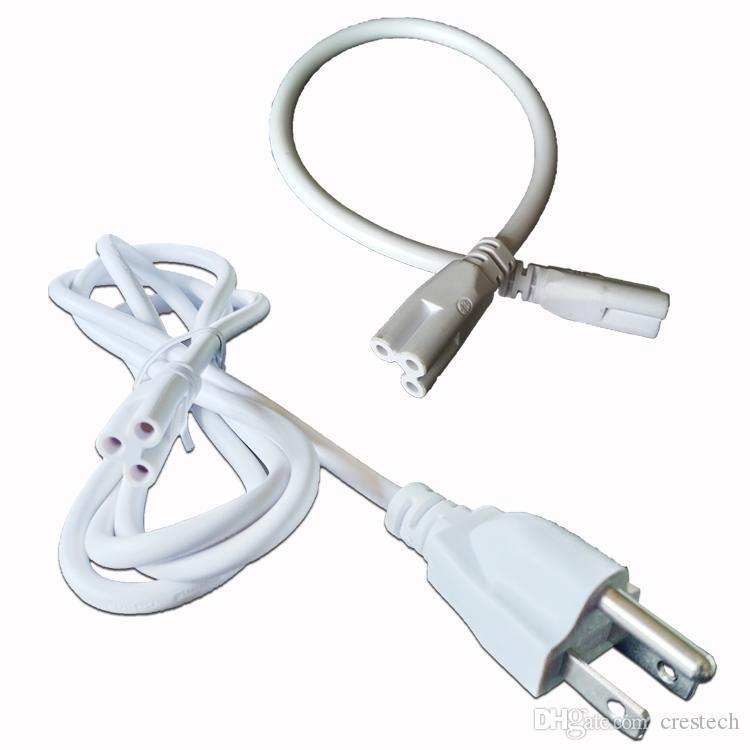 T5 T8 Bağlayıcı Kablo bağlanabilir kablolar Tüp Aksesuarları Uzatma Kablosu Anahtar konektörü Tel Kordon AC abd fiş Adaptörü güç hattı