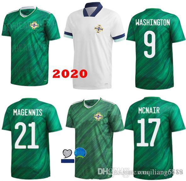 20 21 Nordirland Fußball-Trikots LAFFERTY 2020 Mens Uniform Männer Kit DAVIS Magennis Fußball-Hemd EVANS MCNAIR BOYCE Jersey