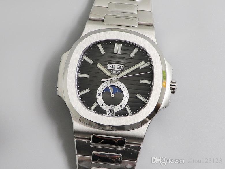 GR exclusif personnalisé Caliber324s diamètre 40.5 épaisseur 11.3 shell corps sont poli et givré traitement montres de luxe designer montres