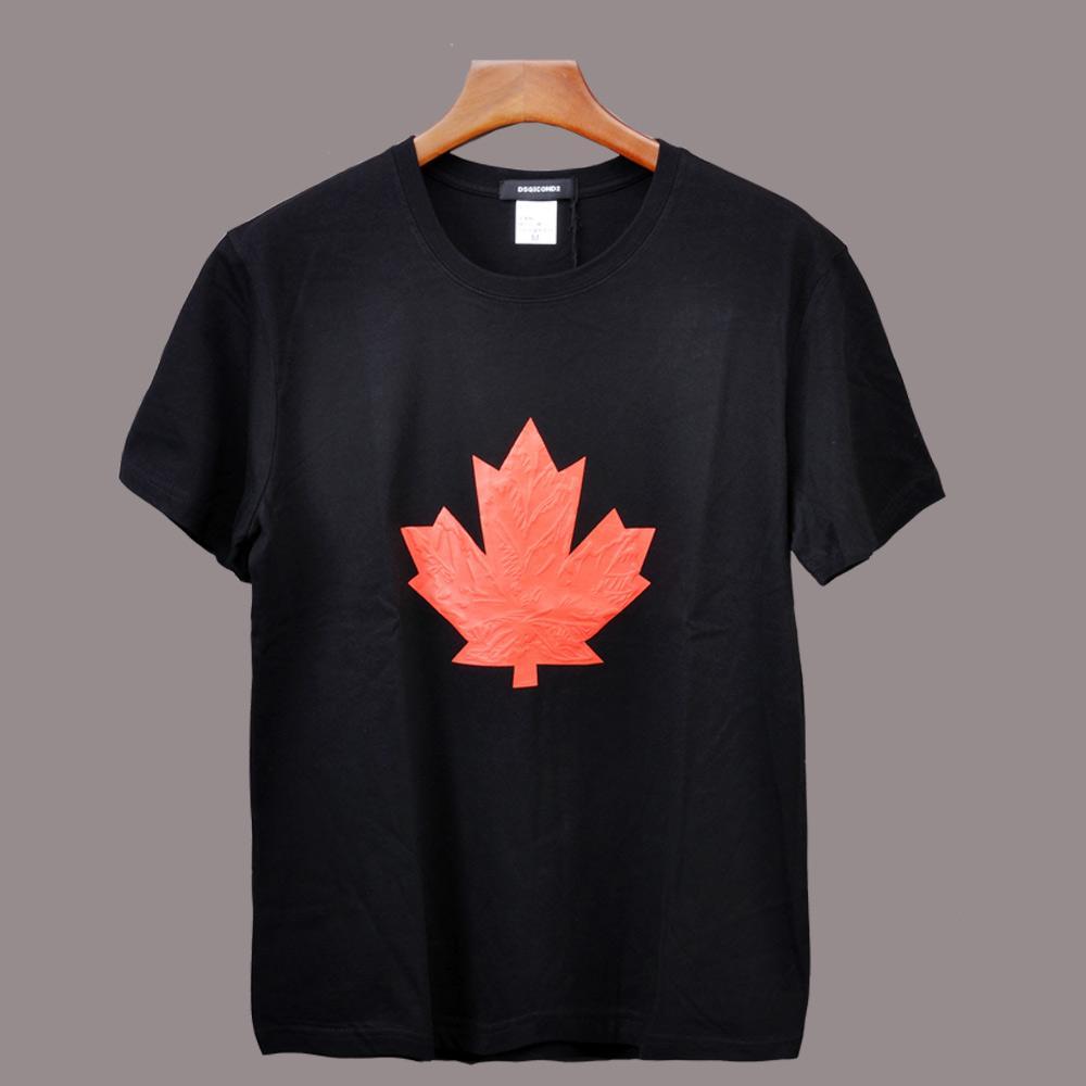 Unisex leaf fashion tee men/'s and women/'s