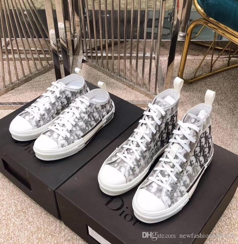 B23 Oblique High Low Top Sneakers