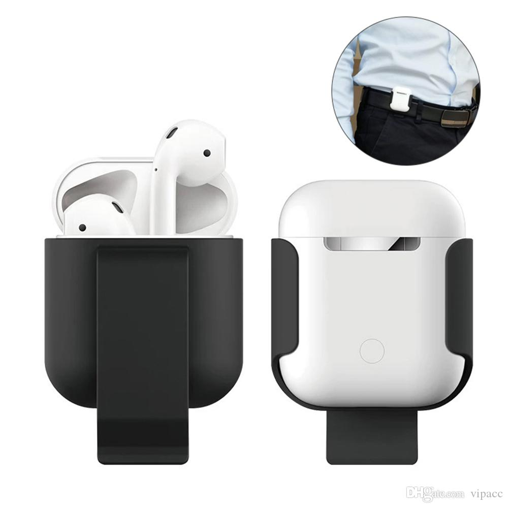 Waist Clip Protector Earphone Case For Apple Airpods Anti Lost Bluetooth Wireless Headsets Protective Covers For Airpods 1 2 Generation From Smartstars 1 57 Dhgate Com