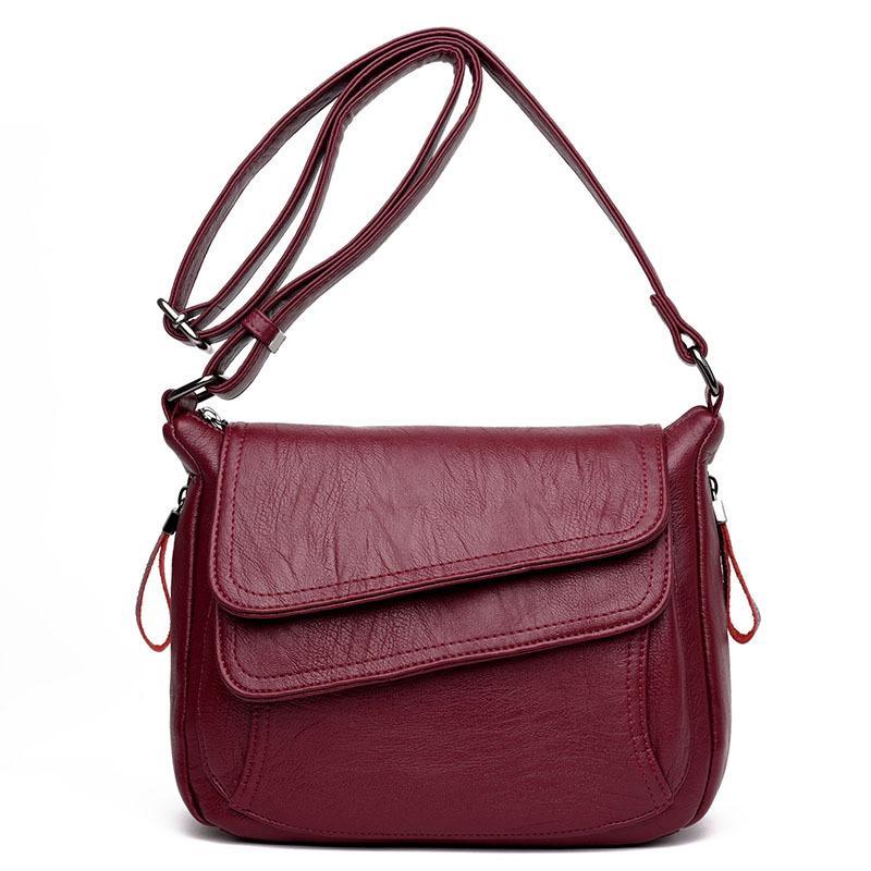 Модная корейская версия новой мягкой кожаной сумки