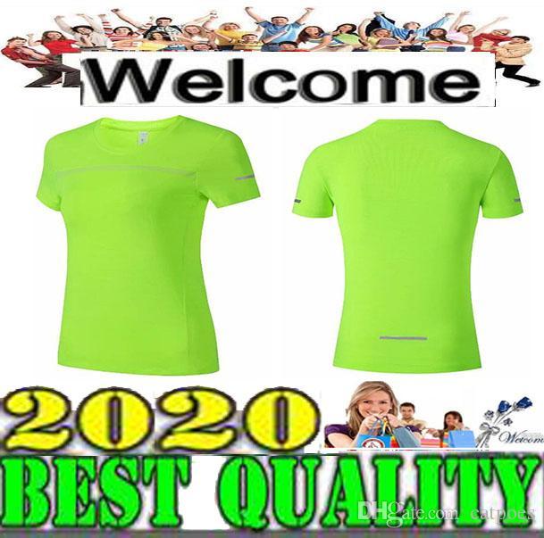 2019 2020 NEW بالجملة المرأة كم قصير تي شيرت أسود تجريب الصدرية ممارسة الملابس الركض الركض 3 ألوان الحجم S-XL