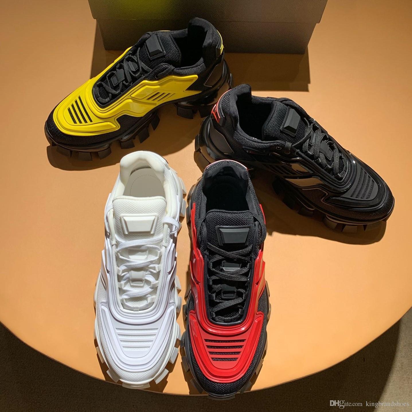 chaussures de sport de luxe nouvelles chaussures hommes robot chaussures de papa épais et semelles à talons hauts chaussures casual antidérapants respirant baskets rétro