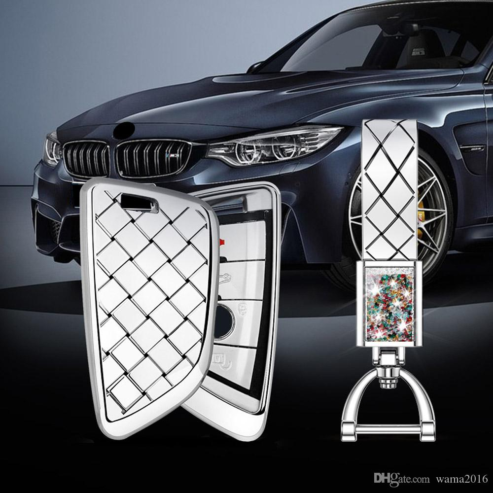 Super Quality Car key case For BMW 528li/X1/X2/X5 For X3/X4/X6/730 F15 F16 G30 G11 F48 Car Styling