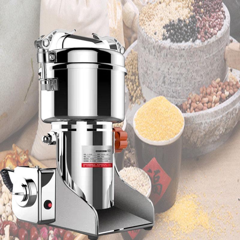 Best-vente moulin médecine moulin broyeur de poudre de Beans multi-fonctions de la farine alimentaire de rectifieuse épices grains de café.