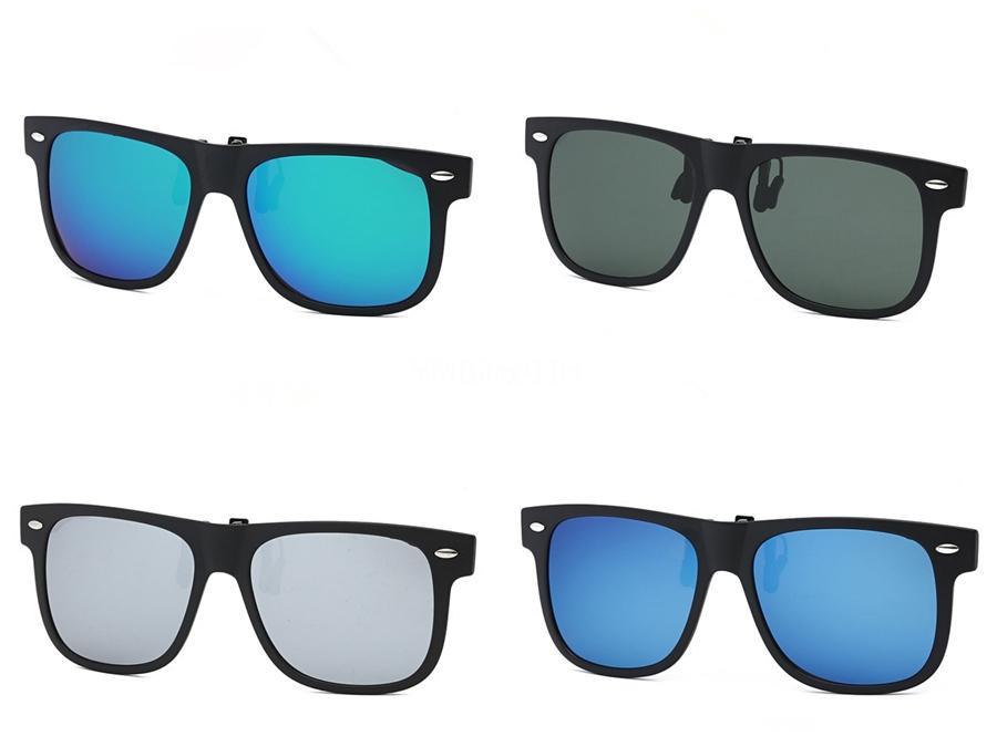 Top qualité Hommes Mode TR90 Sunglasee noir mat cadre gris polarisants Femmes au volant 54mm Lunettes de soleil verres dégradés avec la boîte # 45343