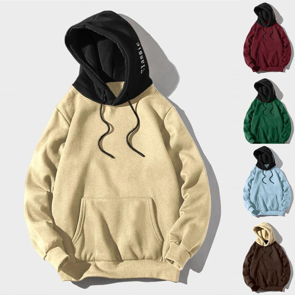 Sólido de color Tops Hoodies 2019 Spring Fashion Marca sudaderas para hombres otoño Casual Male sudaderas con capucha de los hombres de