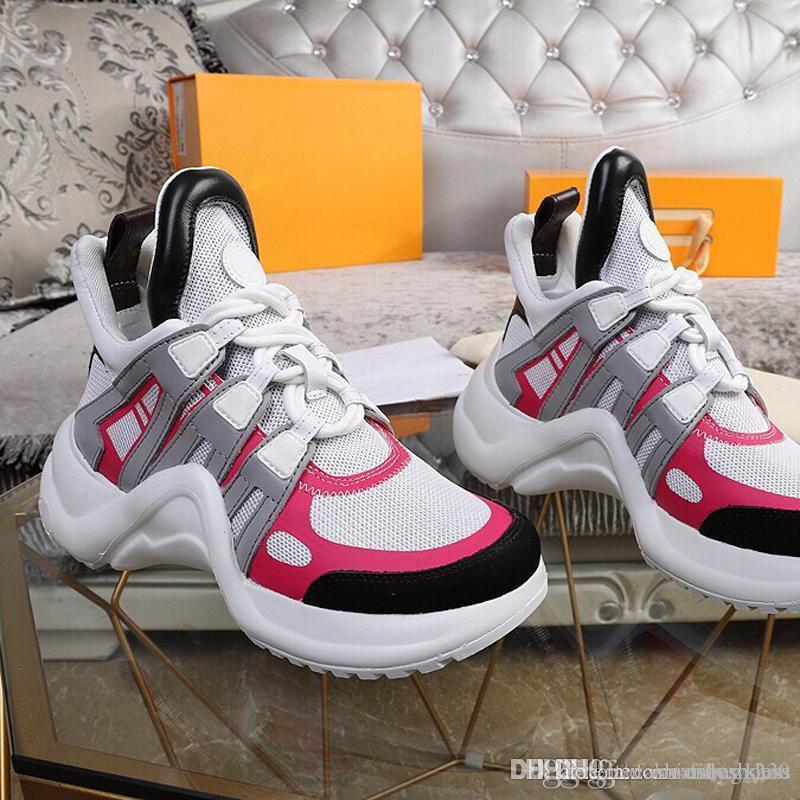 Las nuevas señoras de lujo de zapatos casuales Triple S zapatos de baloncesto de malla viejo padre para los hombres de las mujeres zapatillas de tenis Multi gran tamaño US11