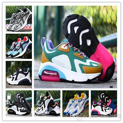 2020 воздуха nbspMax 200 Mens женщин кроссовки не более 200 на открытом воздухе пробег спортивные кроссовки на воздушной подушке кроссовки размер Eur 36-46