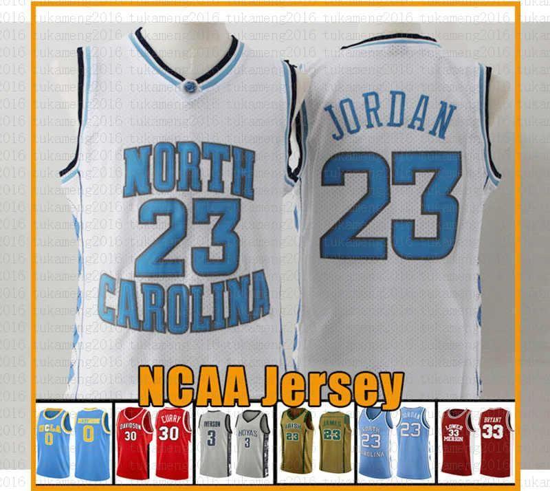 Top venda da Carolina do Norte Jerseys State University 23 Michael JD faculdade da universidade do basquetebol Jersey NCAA Laney High School de