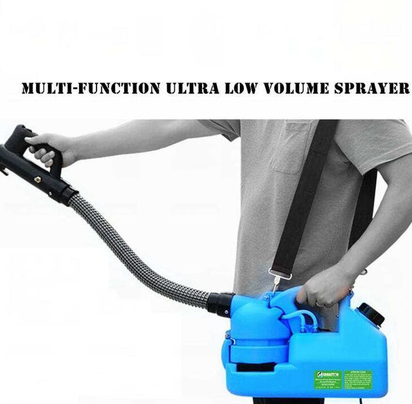 220V 7L eléctrico ULV Nebulizador atomizador Ultra pulverizador ULV Nebulizador asesino del mosquito del asesino del mosquito de la máquina jardín atomizador KKA7809
