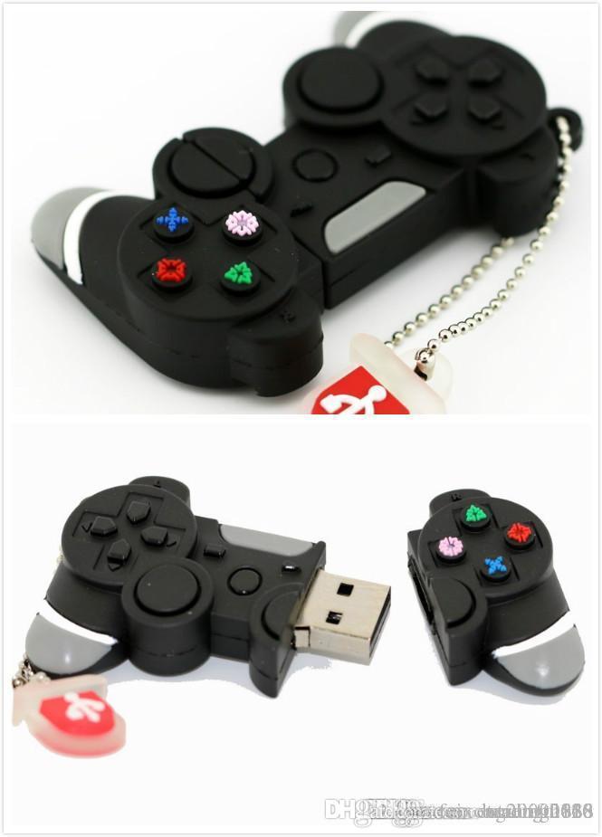 تصميم القدرة الحقيقية لعبة تحكم USB فلاش حملة ذاكرة عصا 64GB سوبر القلم محرك