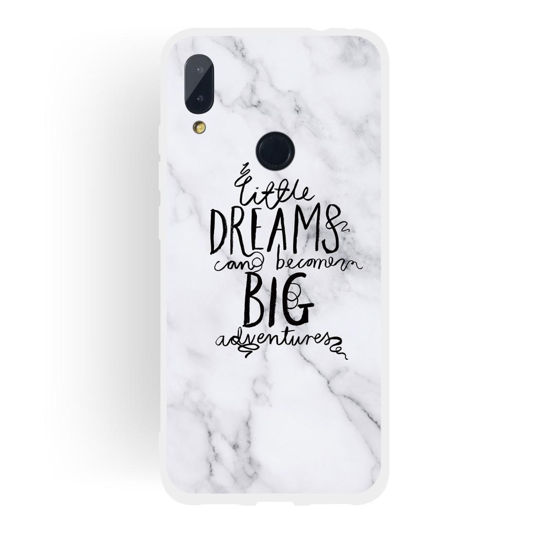 Sogno Testo opaca TPU Marmo telefono semi-trasparente per Xiaomi redmi Note7