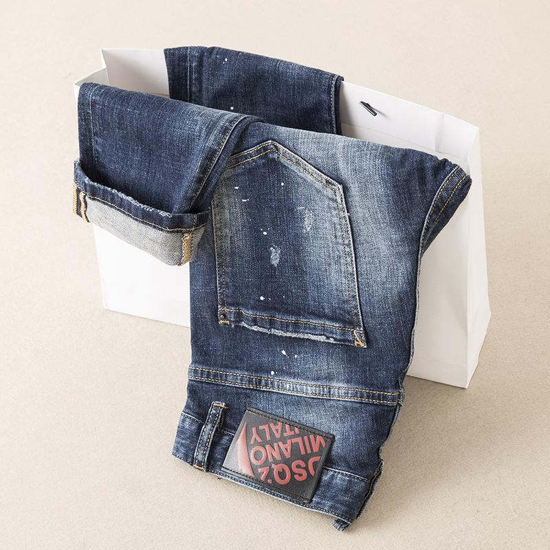 Yeni Geliş Moda Erkek Giyim Düz Özgün Tasarım Erkekler Jeans Mükemmel Kalite Pantolon Pantolon Ju8901 tercih