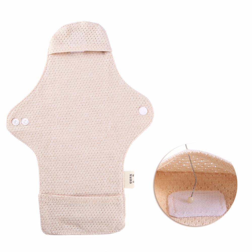 OEM | Réutilisables 100% coton bio Serviettes hygiéniques Détaché menstruelles Pads Jour utilisation Lavable Période féminine serviettes hygiéniques en tissu Pad
