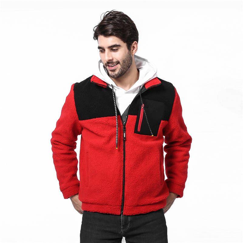 Nueva capa de diseñador para hombre Llegamos con cremallera de la manera Escudo de lujo caliente de la chaqueta del invierno de Calle con la marca de letras de tamaño L-4XL de ventas al por mayor