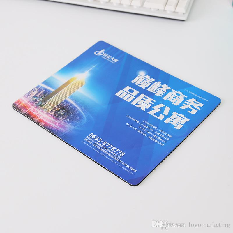 Free Give away Laptop Game Shope Office Promotional Mousepad Custom Logo Full Color Soft Surface Mouse Pad