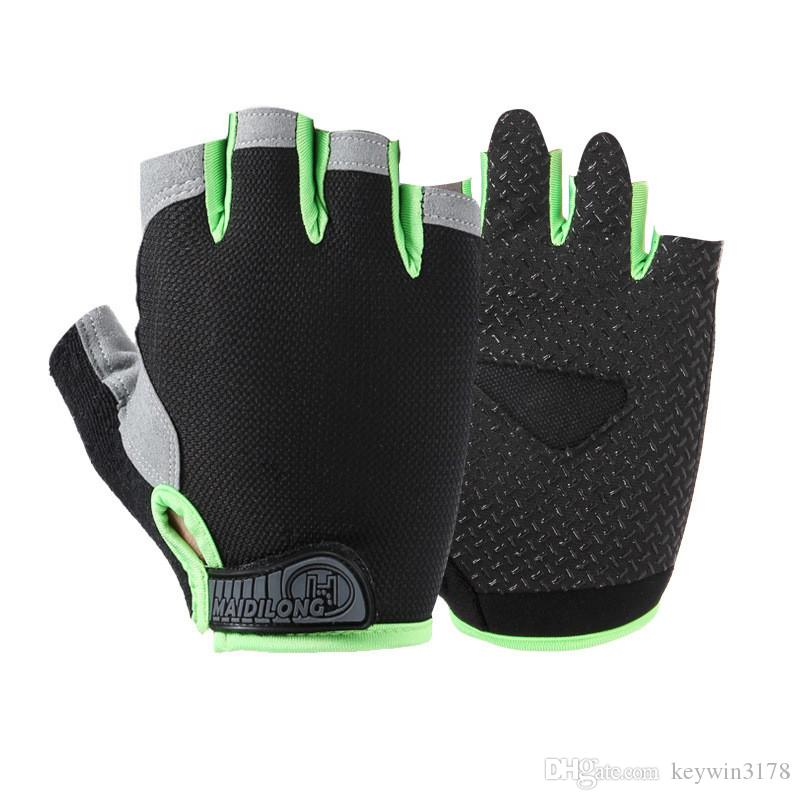 Breathable Fishing Half Finger Fingerless Gloves Summer Sunscreen Anti-Slip Outdoor Fishing Cycling Gloves Fishing Accessories