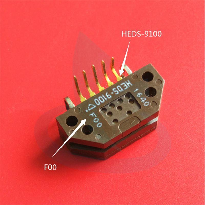 codeur moteur d'imprimante à jet d'encre extérieure capteur AVAGO HEDS-9100 F00 nouveau Wit-couleur originale Flora connecteur pli au lecteur de capteur de trame Infinity
