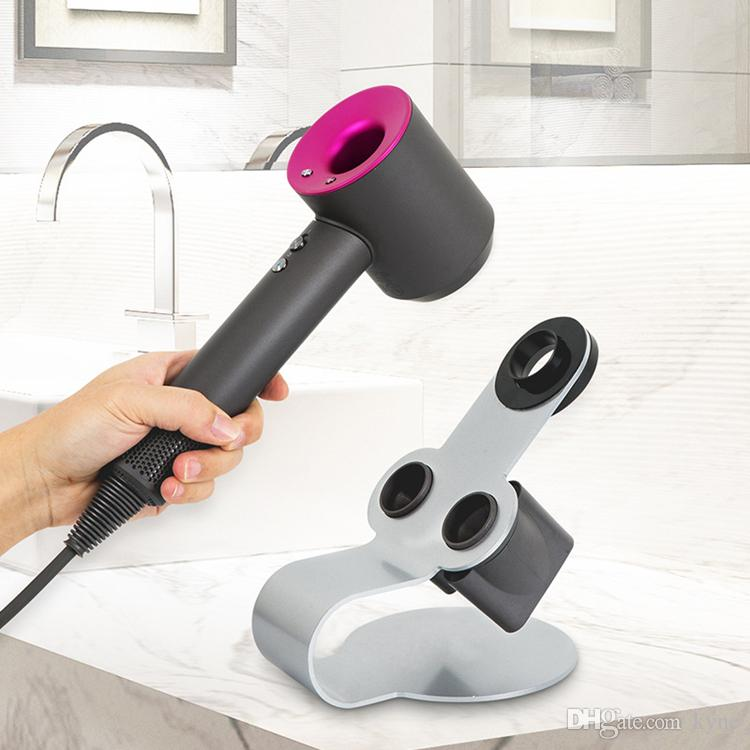 Magnetic Hairdryer Support for Hair Dryer Storage Rack Multi-function Black Silver Colors Stand Storage Holders Free Ship